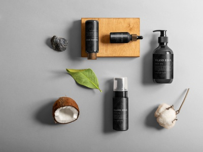 Branding Nia Long's Island Edge product design web design ui ux branding