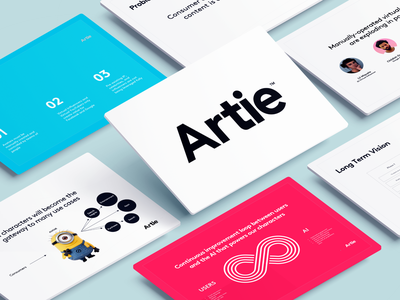 Artie Presentation Deck typography ux design ux ui dashboard slide prezi virtual reality virtualreality augmented ar keynote presentation powerpoint presentation powerpoint template powerpoint pitchdeck pitch deck pitch keynote presentation design