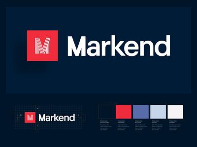 Markend: Brand Identity Design identity design logotype pitch powerpoint design presentation design icon logo mark brand guide logo brand identity branding