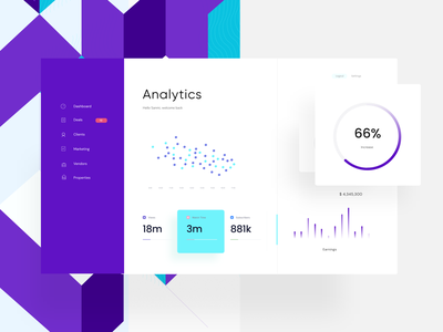 Dashboard for Data Analytics Tool pitch deck figma powerpoint pattern design pattern data visualization pitch ux mobile app chart analytic data viz data product design product ui ui design presentation design dashboard ui