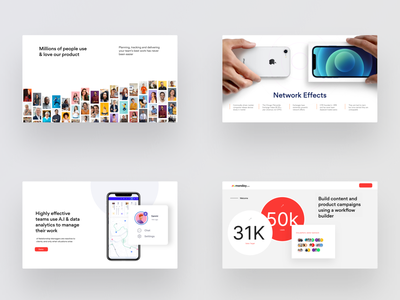 Presentation / Pitch deck design inspiration series fundraise iphone deck powerpoint presentation powerpoint template chart infographic storytelling prezi investor data visualization pitch keynote powerpoint slide pitch deck presentation design presentation design