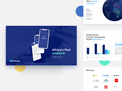 Eversend: A neobank for Africans, anywhere in the world powerpoint template powerpoint design slides prezi ux ux design presentation pitch deck powerpoint presentation logo keynote data pitch slide powerpoint icon design data visualization presentation design infographic