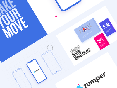 Zumper - Find houses and apartments for rent ux desgin ebook magazine pitch keynote pitch deck powerpoint presentation powerpoint presentation design presentation typography branding illustration ux ui infographic data icon design data visualization