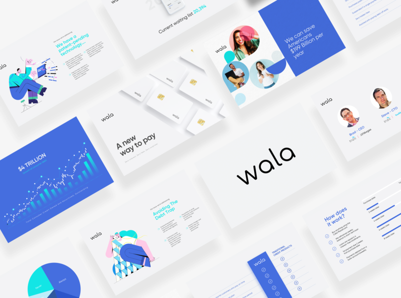 Presentation/Pitch Deck for Wala
