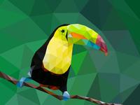 Lowpoly Toucan