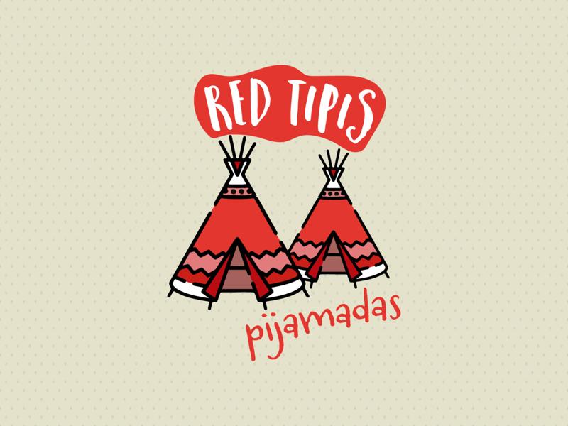 Red Tipis logo