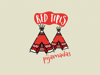 Red Tipis