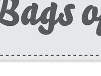 Bags of Flavor logo work