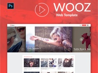 Freebie - Wooz Landing Page