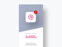 Dribbble preview 1   invites