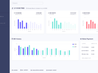 Dribbble preview   utilex dashboard