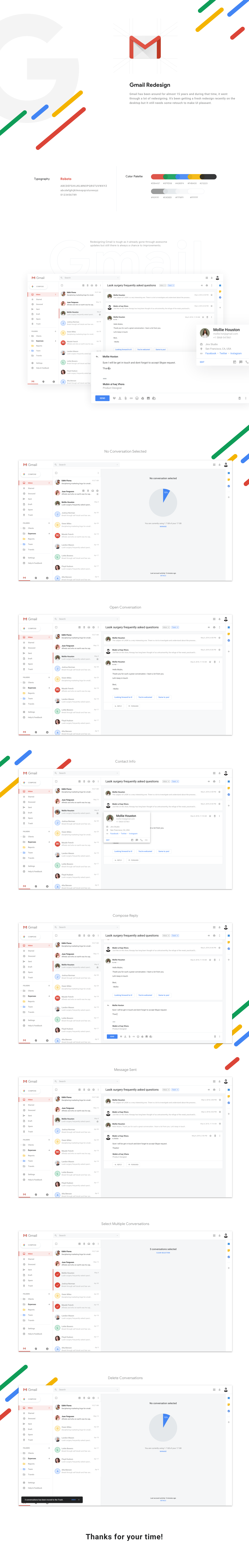 Gmail redesign presentation full
