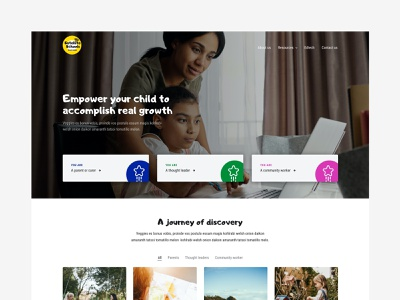 Satellite Schools technical website typography web ui ux minimal design