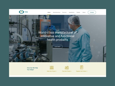 TSI professional technical chemical science medicine pharmaceutical type minimal website web ux typography ui design