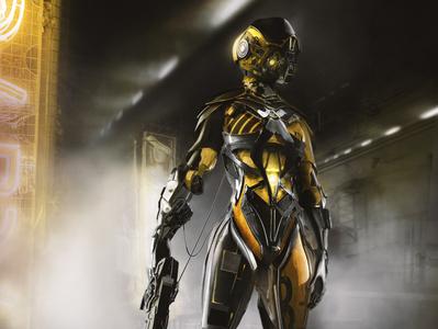armor XIV scifi futuristic photoshop cyberpunk science fiction character design zbrush