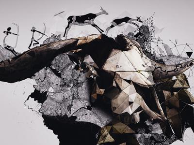Jahela! polaus depthcore primal wallpaper abstract digitalart