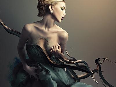 Mara illustration digitalart wome dream photomanipulation