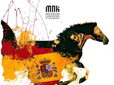National Museum in Krakow spain cracow museum illustration adv