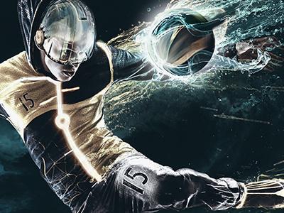 Sport in the future sport contest fotolia abstract illustration digital art
