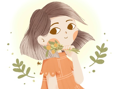 Mimimoo 4K dtiys character woman illustration woman anime human paint tool sai visualization illustration