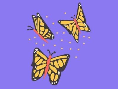 Asymmetric Butterflies #3
