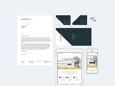 Anderssein - Branding