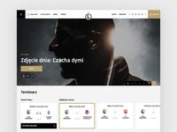 Legia Warsaw Website - Football Homepage