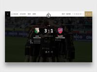 Legia Warsaw Website - Match Center