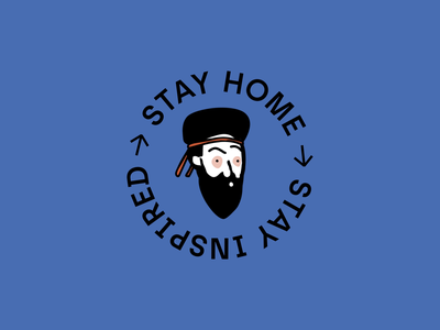 HeroDOT - doodles stay inspired stay home faces illustration characters doodles motion identity branding digital dot hero