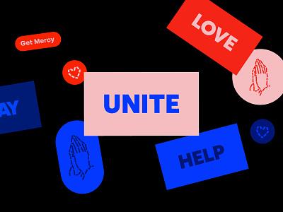Get Mercy - stickers christian mercy faith identity god branding