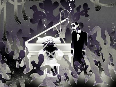 Neverland lover storytelling story digital illustration digitalart illustration