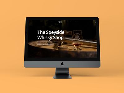 Speyside Whisky Shop Website