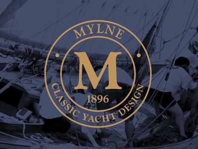 Yacht Design Identity emblam yacht branding