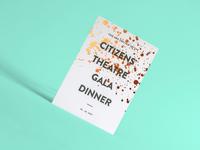 Gala Dinner Invitation