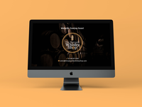 Whisky shop Launch page