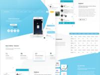 Messaging Token Sale Website