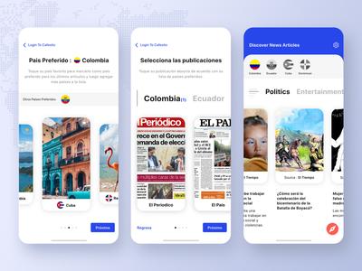Latin News Feed App