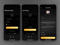 Dark Mode - Account Setup