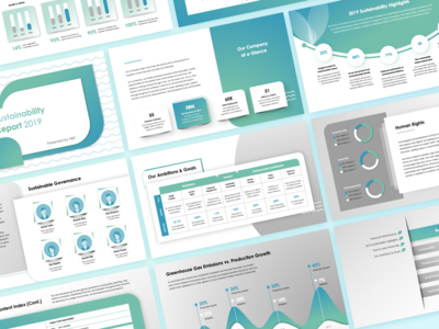 Sustainability Report Deck