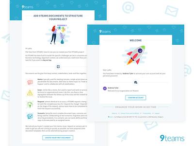 Email design for 9teams web emails messages design email design email