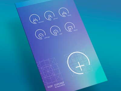 Icons for app AURA-SOMA ®
