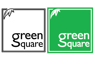 Green Square logo design by Andy Owen - Dribbble