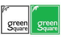 Green Square logo design