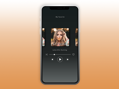 Dailyui009 - Music Player