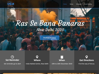 Ras Se Bana Banaras Redesign