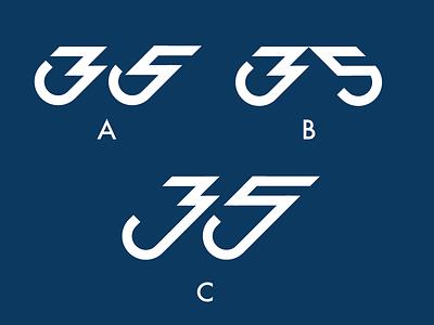 Thirty Five feedback feedback needed cafe wip 35 logo