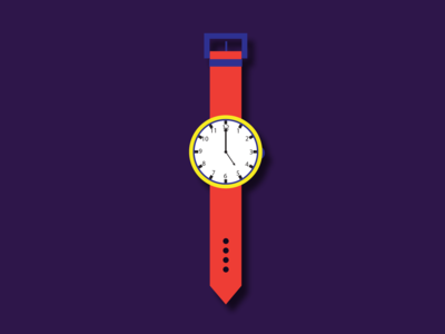 Wrist watch - illustration!