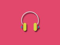 Headphones - ilustration!