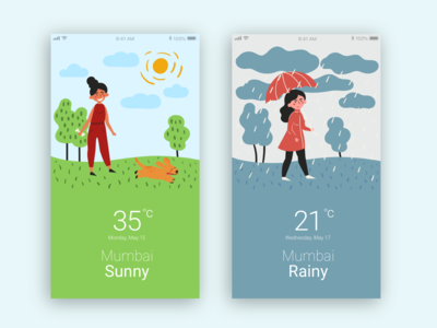 Weather App - UI