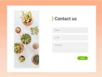 Contact Us Form - UI